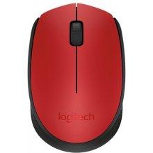 Мышь LOGITECH M171 красный