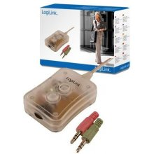 LogiLink Switch 2-Port Audio mini Desktop...