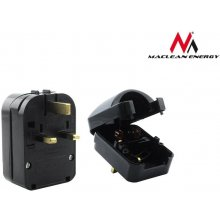 Maclean Power adapter UK Euro MCE70 Black