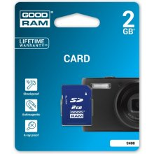 Флешка GOODRAM SD Card 2GB SD retail