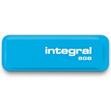 Mälukaart INTEGRAL USB Flash Drive Neon 8GB...