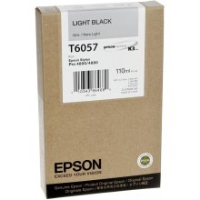 Tooner Epson T6057 Tinte Hellschwarz