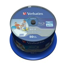 Verbatim BD-R SL 25GB 6X 50PK