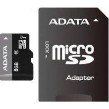 Mälukaart ADATA mälu card microSDHC 8GB UHS1...