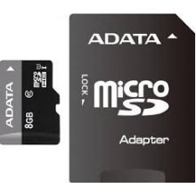 Флешка ADATA память card microSDHC 8GB UHS1...