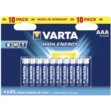 VARTA 1x10 High Energy Micro AAA LR 03