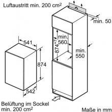 Külmik SIEMENS KI18LV52 (EEK: A+)