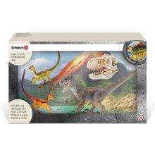 Schleich Velociraptor hunting