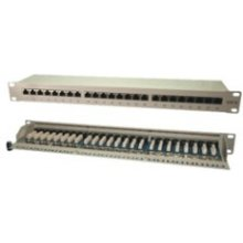 Mcab Patch Panel 19Zoll CAT6 24Port