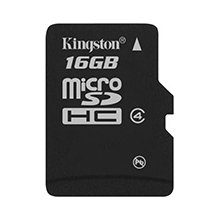 Флешка KINGSTON MicroSDHC 16Gb