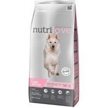 Nutrilove sensitive lamb&rice 3 kg