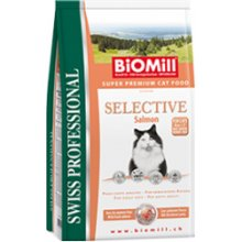 BioMill Adult Cat Selective lõhega - 1,5kg