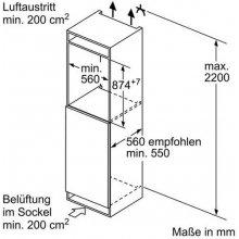 Külmik SIEMENS KI21RAF40 Einbau-Kühlautomat...