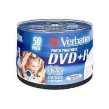 Диски Verbatim DVD+R [ 50pcs, 4.7GB, 16x...