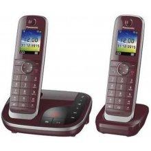 Телефон PANASONIC KX-TGJ322GR weinrot