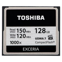 Флешка TOSHIBA CompactFlash Exceria 128GB