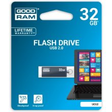 Флешка GOODRAM CUBE 32GB USB2 GRAPHITE