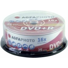 Диски AGFAPHOTO DVD+R 4.7GB 16X