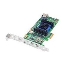 ADAPTEC Raid 6405E SAS PCIe 4 port 128mb...