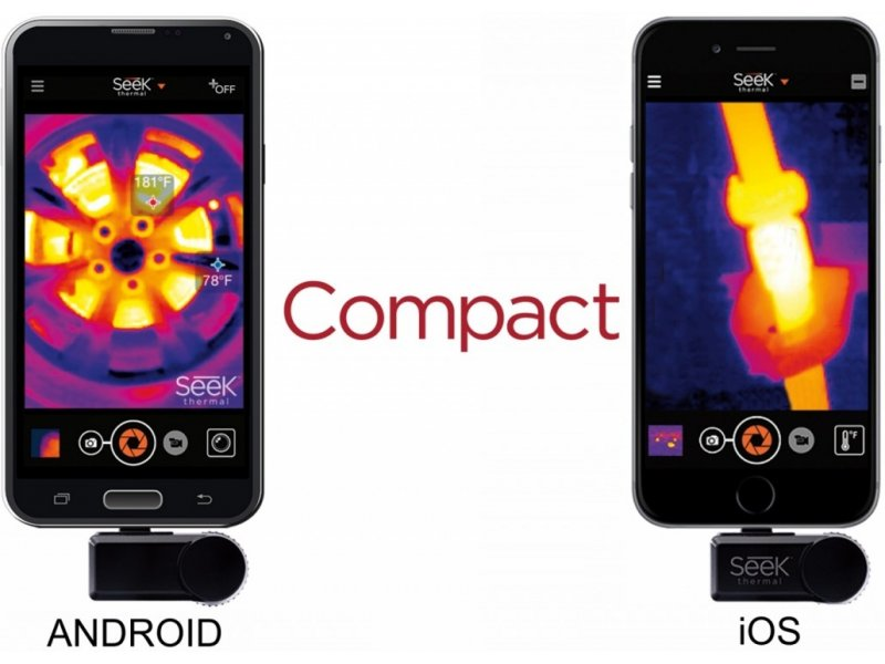 c1fc53f571 Seek Thermal Compact Camera Android -... Product images are for  illustrative purposes only