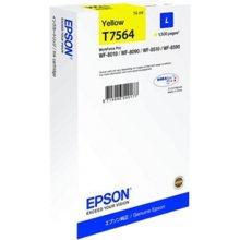 Tooner Epson T7564 L tint Cartridge, kollane