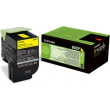 Lexmark Toner 802Y kollane | return | 1000...