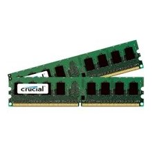 Mälu Crucial 2GB DDR2 800MHz KIT CL5 1GBx2...