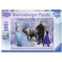 RAVENSBURGER In The Realm Of Snow 100 pcs...