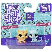 HASBRO Littlest Pet Shop 2 pack, Kitty &...