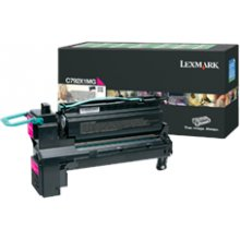Тонер Lexmark C792X1MG Return Toner Magenta