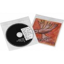 Diskid Hama 50 CD- / DVD-Schutzhüllen valge