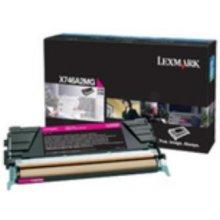 Тонер Lexmark X746A3 M, Laser, Lexmark...