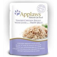Applaws Jelly Eine kotike Chicken & Liver...