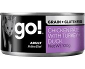 GO! Fit + Free Pate Adult Cat - chicken...