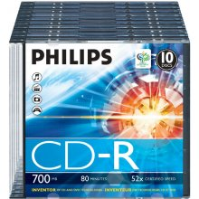 Diskid Philips 700MB / 80min 52x CD-R...