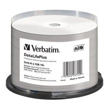 Toorikud Verbatim 1x50 DVD-R 4,7GB 16x lai...