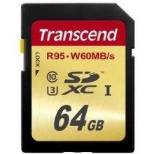Флешка Transcend память card SDXC 64GB...