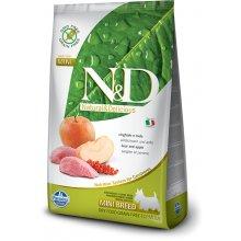 Farmina N&D Dog Adult Mini - boar & apple -...