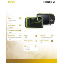 Фотоаппарат FUJIFILM FinePix XP120 lime...