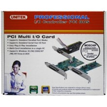 Unitek 1 Port Parallel PCI Card; Y-7505