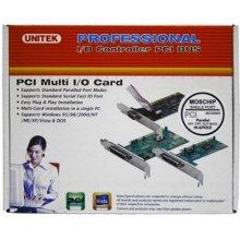 Unitek 1 Port Parallel PCI Card, Y-7505