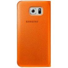 Samsung S-View чехол PU für S6 оранжевый