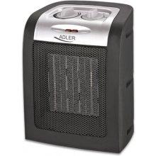 ADLER Black, Type Fan heater, 750/1500 W W