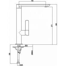 Teka FO 915 BLACK Kitchen faucet