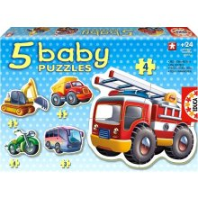 Educa Puzzle baby 19 items Vehicles