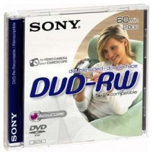Sony DVD-RW 2,8GB 8 cm 2x Speed, Jewel Case...