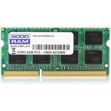 Mälu GOODRAM SODIMM DDR3 4GB/1066 CL7