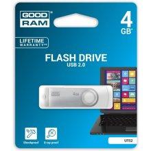 Флешка GOODRAM TWISTER 4GB белый USB2.0