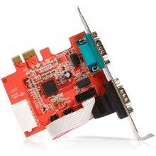 StarTech.com PEX2S952, PCIe, серебристый...