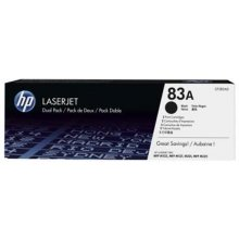 Тонер HP Toner 83A Black dual pack